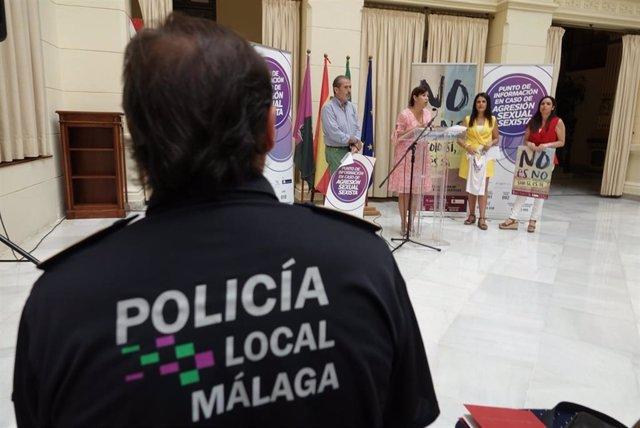 """El Ayuntamiento De Málaga Informa: """"No Es No. Solo Sí Es Sí"""", Campaña De Prevención De La Violencia Sexual Machista"""