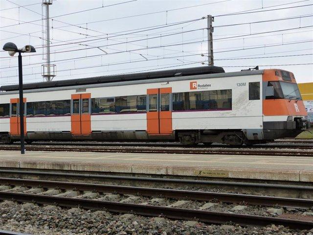 Un tren de Rodalies (archivo)