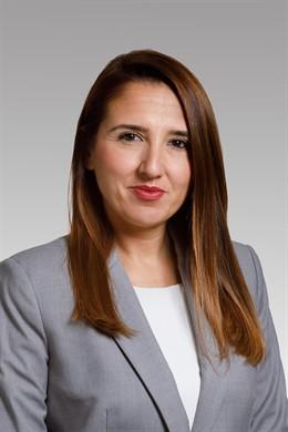 La jefa del Gabinete del consejero de Presidencia, Igualdad, Función Pública e Interior, Vera Villafranca Martínez