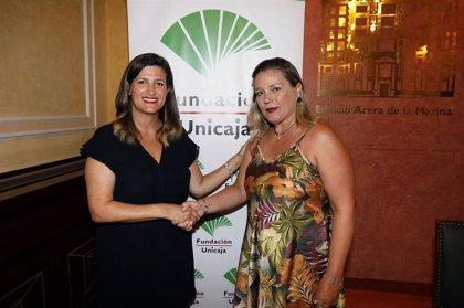 Fundación Unicaja respalda el proyecto de atención psicosocial para afrontar el duelo de la asociación Alhelí de Málaga