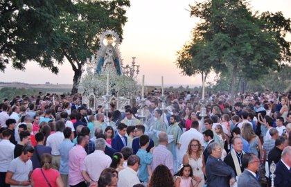 El Ayuntamiento de Alcalá (Sevilla) pone en marcha un amplio dispositivo para los cultos del 15 de agosto