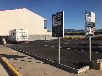 El Ayuntamiento de La Almunia de Doña Godina impulsa el turismo con la creación de un área de autocaravanas