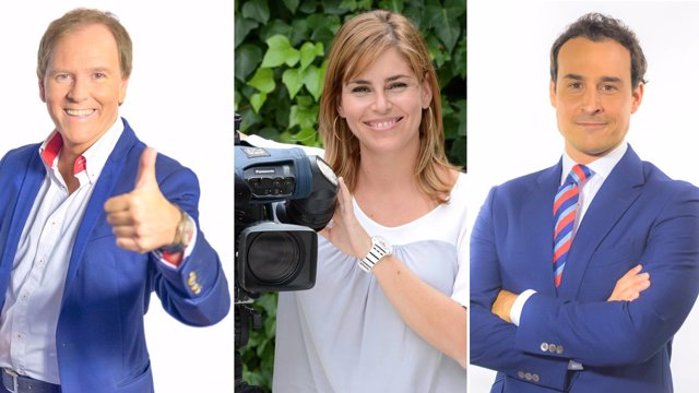 Conductores de 'Toros para Todos', 'Tierra y mar' y 'Canal Sur Noticias 1'