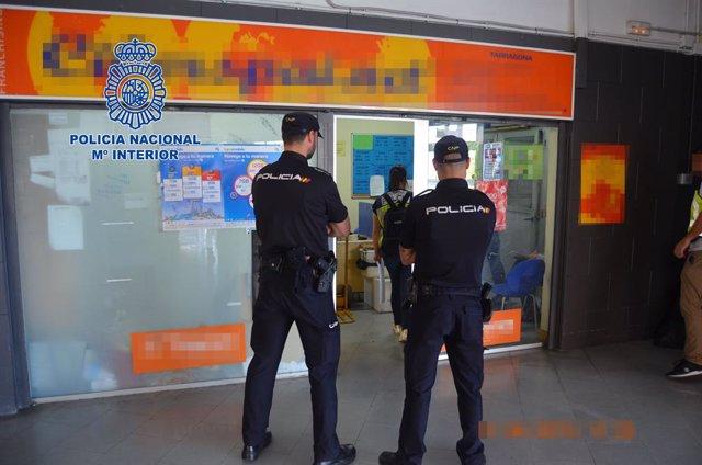 Operatiu policial a Tarragona
