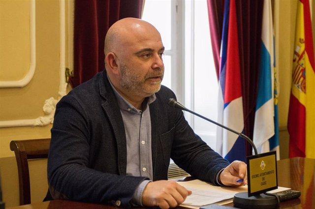 David Navarro, concejal de Comercio del Ayuntamiento de Cádiz