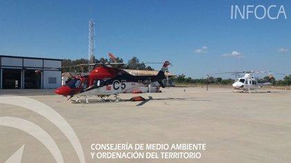 Controlado el incendio declarado en el paraje Los Corrales en Huelva