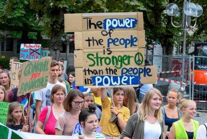 Cambio climático.- El movimiento 'Fridays For Future' reclamará un cambio del sistema económico para atajar el cambio climático