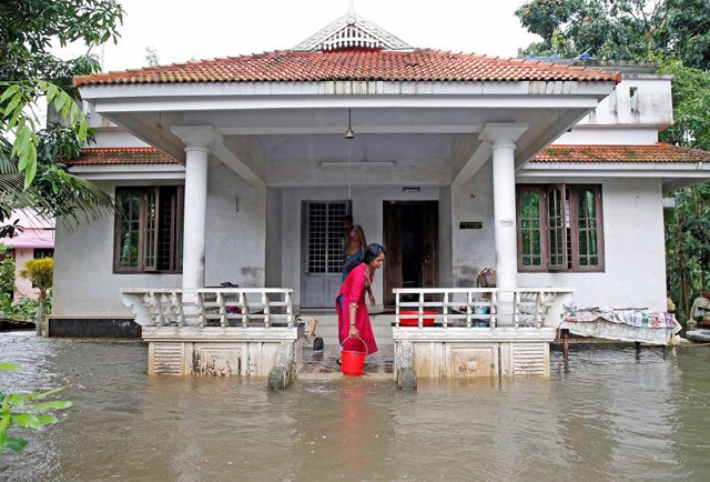 India.- Aumentan a 190 los muertos por las lluvias monzónicas en India
