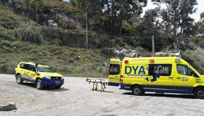Localizan a un ciclista herido y desorientado tras caerse en un monte de Castro
