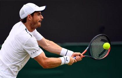 Andy Murray cae con Gasquet en su primer individual en siete meses