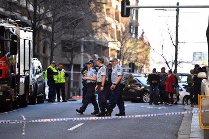 Una mujer muerta y otra herida por un ataque con cuchillo en el centro de Sidney