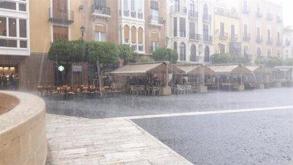 Meteorología alerta de lluvias y tormentas este martes en casi toda la Región de Murcia