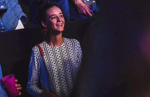 Victoria Federica durante el concierto de Morat