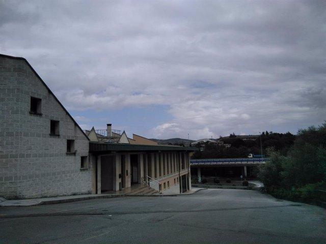 Lugar donde se ubicará el crematorio en Pola de Siero.