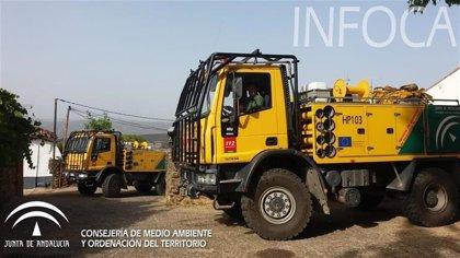 Controlado un incendio en Ventorros de Balerma (Granada), que ha afectado a diez hectáreas de matorral