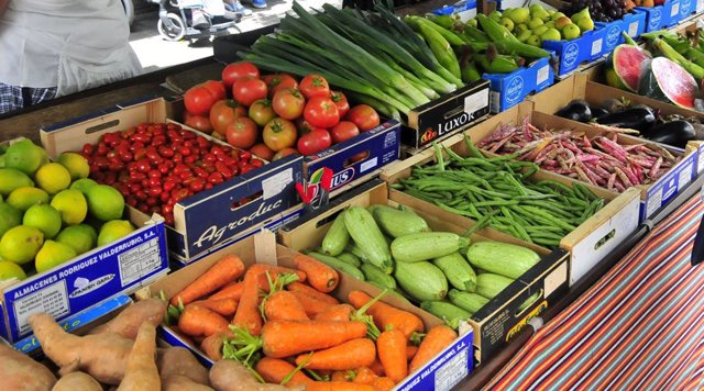 Mercat de verdures i fruites