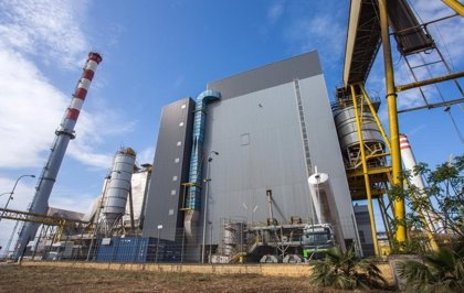 Normalidad en Ence en Huelva tras el incidente en el silo de biomasa