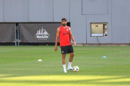 Diego Costa sufre una lesión muscular en el muslo izquierdo