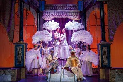 El Teatro Alcazar de Madrid estrena este miércoles 'Aladin, un musical genial' para el público familiar