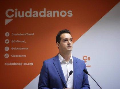 """Cs critica que el equipo de gobierno """"ha paralizado"""" la DPT hasta que PSOE y PAR """"se han repartido los sillones"""""""