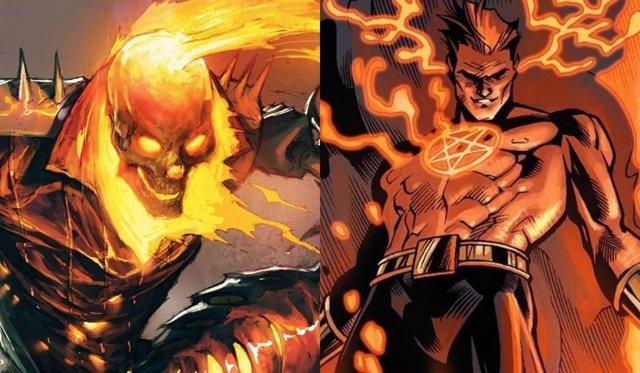Ghost Rider y Hellstrom