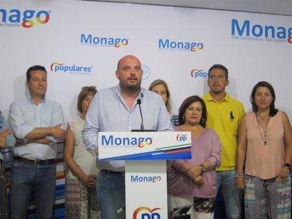 """El PP de Extremadura pide """"medidas urgentes"""" ante la """"situación de incomunicación"""" en varios municipios de la región"""