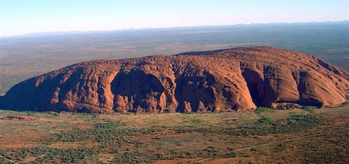 Ayers Rock (Australia central)