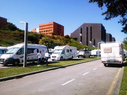 PRC presenta una moción para pedir más áreas para autocaravanas en Santander