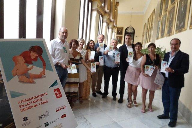 Campaña SOS Respira que enseña a los visitantes a actuar frente a atragantamientos