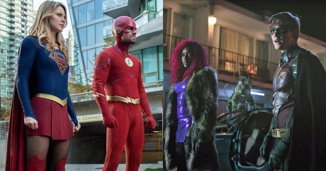 ¿Estarán Los Personajes De Titans En El Arrowverso?