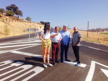 La Diputación acondiciona la vía de acceso a Vilches desde la A-312, con una inversión de más de 581.000 euros
