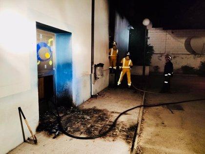 """El informe de la policía científica determina que el incendio en Onda Jaén """"puede considerarse provocado"""""""