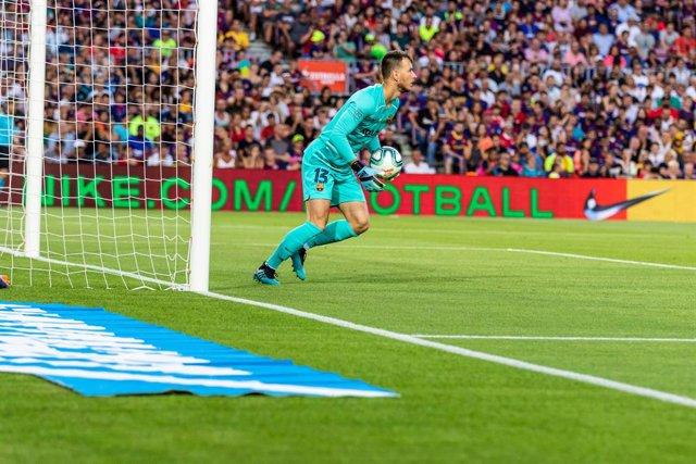 Neto, portero del FC Barcelona