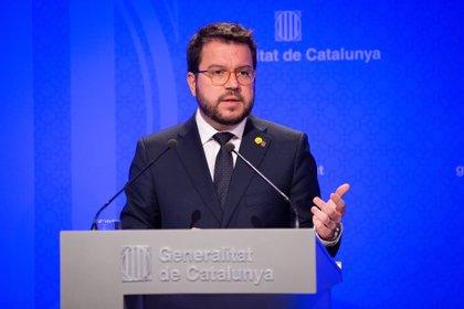 Aragonès comparecerá el 21 de agosto en el Parlament para explicar el recorte presupuestario