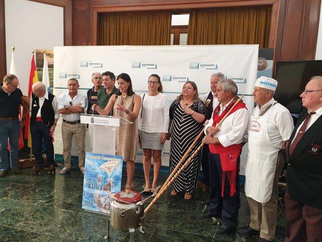 Presentación de la II Jornada Campurriana en Santander