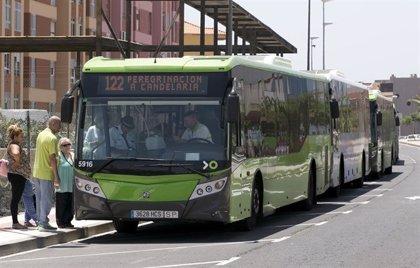 Titsa organiza servicios especiales para facilitar los desplazamientos a Candelaria