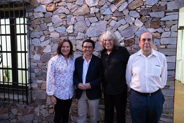 Tomatito, Manuel Guzmán, Mercé y José Antonio López Alemán