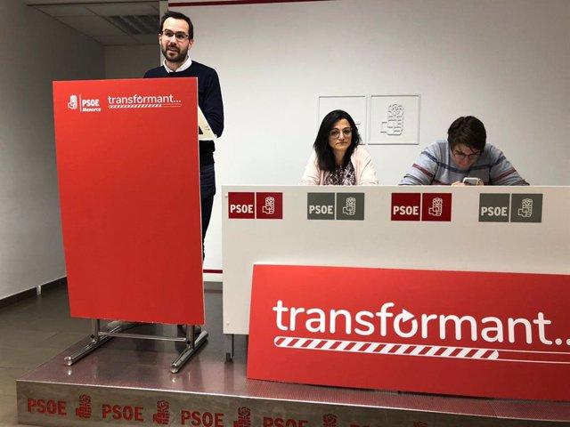 Héctor Pons, candidato socialista a la alcaldía de Mahón