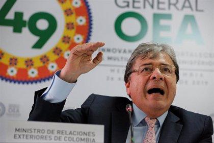 """Colombia subraya su """"firme respaldo"""" a la Asamblea Nacional venezolana frente al régimen """"tiránico"""" de Maduro"""