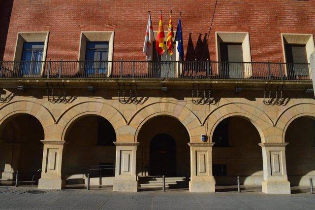 Sede de la Diputación Provincial de Teruel.