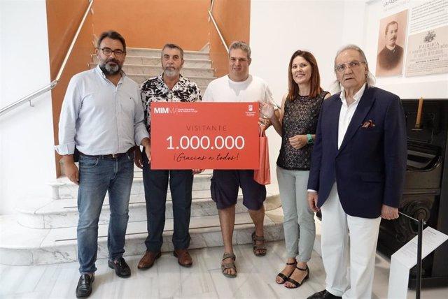 El Ayuntamiento De Málaga Informa: Reenvíamos Nota Un Millón Visitantes Mimma
