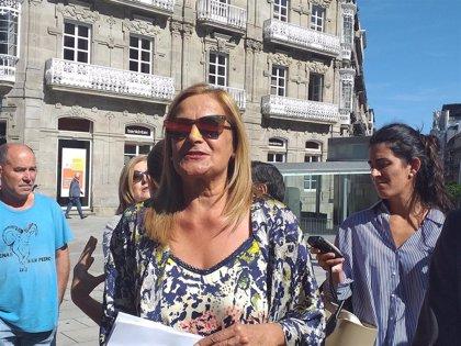 """Carmela Silva responde a la Xunta sobre el control de ayudas a aerolíneas: """"Debería analizar sus propias ayudas"""""""