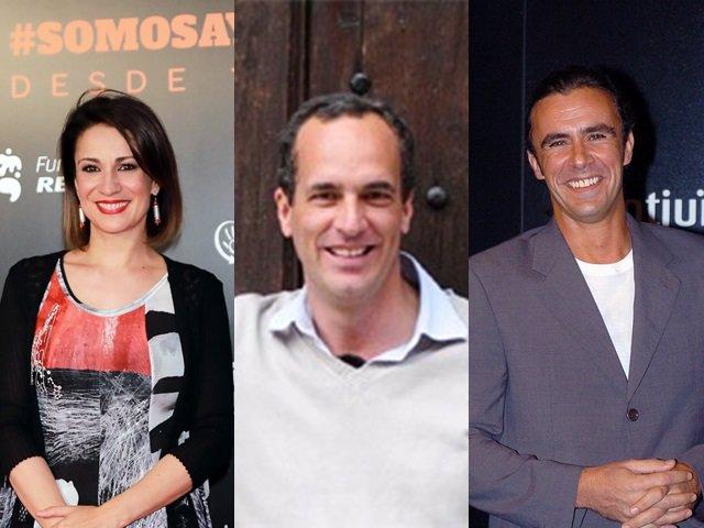 Silvia Jato, Santi Acosta y Alonso Caparrós