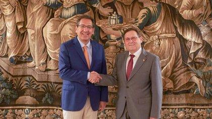 Fundación Cajasol renueva colaboración con Club Agrupación de Voleibol Esquimo (Dos Hermanas, Sevilla) una temporada más