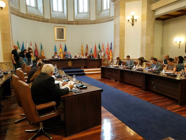 Pleno de organización de la Diputación de Lugo