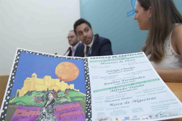 Presentación de La Luna Flamenca de Castellar
