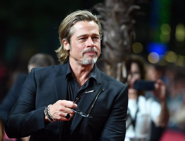 01 August 2019, Berlin: US actor Brad Pitt attends the German premiere of 'Once upon a time in Hollywood' film. Photo: Jens Kalaene/dpa-Zentralbild/dpa