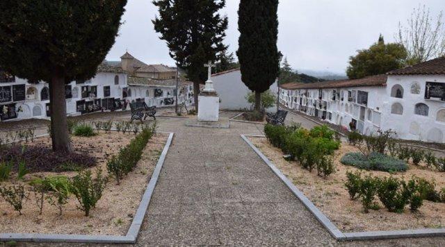 Cementerio de Higuera de la Sierra (Huelva).