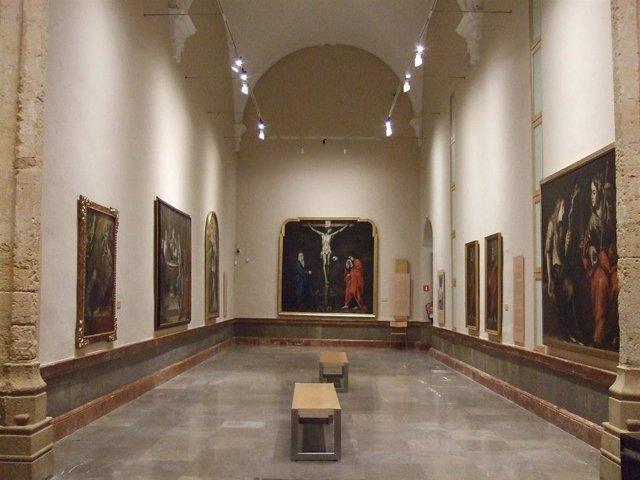 Una de las salas del Bellas Artes dedicada a Antonio del Castillo