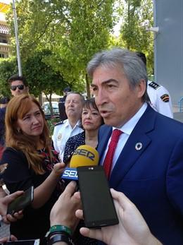 El delegado del Gobierno de España en Andalucía, Lucrecio Fernández, en una imagen de archivo